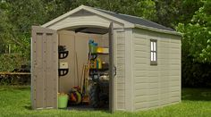 Factor 8x11 Shed | Outdoor Storage by Keter