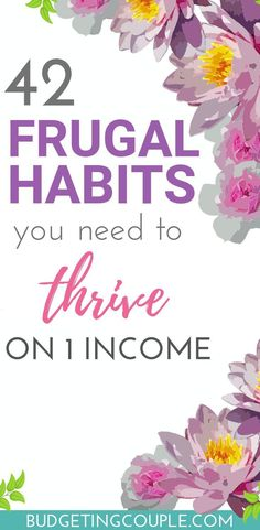 Ready to start saving money and living frugal on autopilot? Check out our super simple frugal tips you need to save money and live frugally on 1 income! End your paycheck to paycheck lifestyle today! Best Money Saving Tips, Money Tips, Saving Money, Money Savers, Money Plan, Money Hacks, Save Money On Groceries, Ways To Save Money, How To Make Money