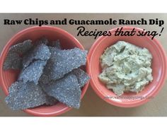 raw chips and dip