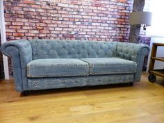 Denim Chesterfield