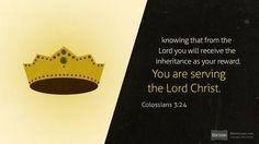 Colossians 3:24