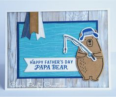 CTMH Father's Day card by Char's Crafty Creations using the No Worries paper pack and the Jack cardmaking stamp set.