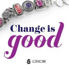 Change is good. - Lori Bonn Design