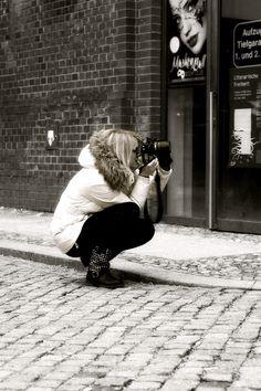 Street Photograph . Berlin Prenzlauer Berg