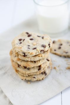 salted peanut & chocolate chip cookies