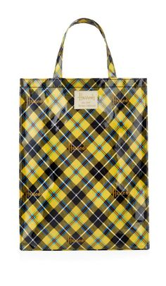 Harrods Cornish Tartan Shopper Bag