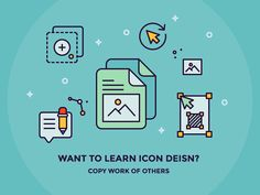 Learn Icon Design by Copying Others by Justas Galaburda