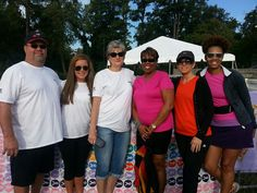 5k Ribbon Walk for a cure for cancer.
