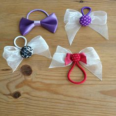 Hair bows and ties for girls- created by Lauren Haber lhabes412@gmail.com