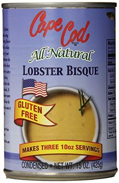 Lobster Gluten free Cape Cod All Natural Lobster Bisque, 15 Ounce
