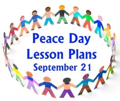 Peace Day Activities and Lesson Plans for Elementary School Teachers