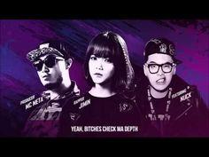 [HD] Jimin (AOA), MC Meta, Nuck - T4SA (Unpretty Rap Star) [English Subbed] - YouTube