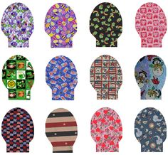 Designer Colostomy Bags | These pouch covers are designed to celebrate the holidays. Pick your ...