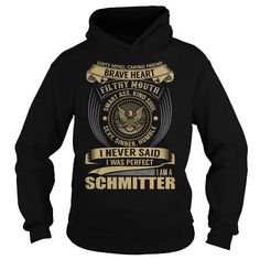 Awesome Tee SCHMITTER Last Name, Surname T-Shirt T shirts