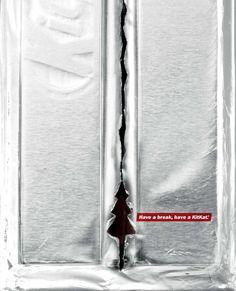 KitKat: Festive foil