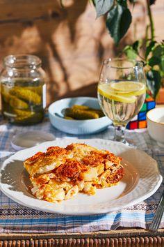 Polenta, Camembert Cheese, Dairy, Cooking, Recipes, Food, Lasagna, Cucina, Kochen