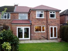 double storey house extension herts
