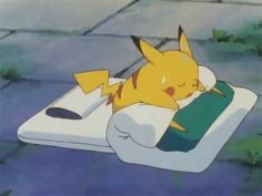 I have collected the cutest GIFs of Pikachu. Because I love Pikachu. You love Pikachu. Pokemon Gif, Pokemon Memes, Pikachu Pikachu, Dormir Gif, Cat Coloring Page, Bulbasaur, Pokemon Pictures, Cute Cartoon Wallpapers, Catch Em All