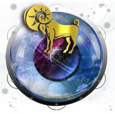 Astrology, Zodiac, Art, Spiritual, Ilustration, Signs, Horoscope, Mandala, mandalas, healing, Planets, Aries, Mars