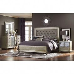 Guide To Discount Bedroom Furniture. Bedroom furnishings encompasses providing products such as chest of drawers, daybeds, fashion jewelry chests, headboards, highboys and night stands. Discount Bedroom Furniture, Luxury Bedroom Furniture, Diy Home Decor Bedroom, Cozy Bedroom, Bedroom Sets, Modern Bedroom, Bedroom Classic, White Bedrooms, Glam Bedroom