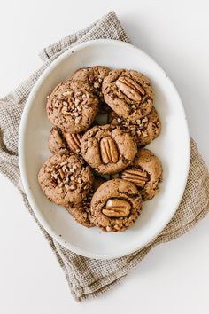 Vegan Butter Pecan Cookies by Faring Well