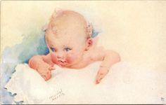 LITTLE ROSE-BUD - Art by MURIEL HARRIS
