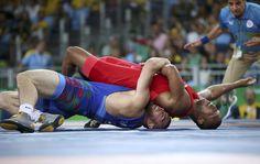 2016 Rio Olympics - Wrestling --2016 Rio Olympics - Wrestling - Final - Men's Freestyle 86 kg Bronze - Carioca Arena (1200×761)