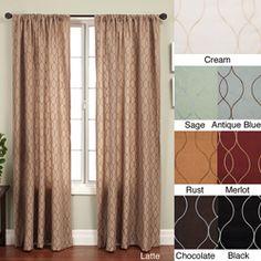 Keeva Rod Pocket 108-inch Curtain Panel