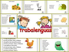Trabalenguas para los peques de la casa Bilingual Education, Preschool Education, Teaching Poetry, Teaching Spanish, Speech Language Therapy, Speech And Language, Spanish Language, Idiomatic Expressions, High School Spanish