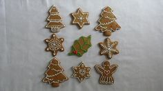 Pepparkakor (Gingerbread Biscuits) Decorated with Royal Icing »
