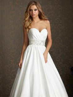 changing my mind about wedding dresses...