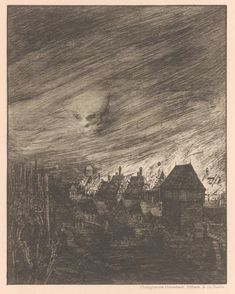 A Modern Dance of Death: A portfolio of prints by German artist Joseph Sattler (1867–1931), c. 1894