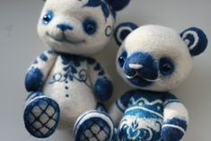 felted bears in the Russian style | Flickr - Photo Sharing!