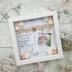 Flower Girl Gift Flower Girl Frame Bridesmaid Gift Present