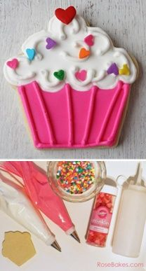 How to Decorate Cupcake Cookies