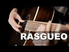 El Rasgueo En Guitarra Más Usado - YouTube