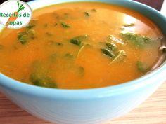 Receitas de sopas: Sopa de legumes com agriões Soup Recipes, Cooking Recipes, Healthy Recipes, Portuguese Recipes, Soup And Salad, No Cook Meals, I Foods, Carne, Food Porn