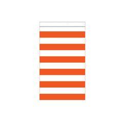Sunkissed Orange Medium Stripes Paper Treat Bag/Case of 180 Tags:  Treat Bags; Bags; Treat Bags;Treat Bags;;; https://www.ktsupply.com/products/32786324378/Sunkissed-Orange-Medium-Stripes-Paper-Treat-BagCase-of-180.html