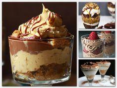 Ilyen desszert kell minden nehéz pillanatra! Egy lágy és finompohárkrémcsodákra képes! Madártej Egy liter tejet felforralunk, és amikor már lobogva forr, hat-hét tojásfehérje felvert habjából galuskákat szaggatunk bele, két-három... My Recipes, Sweet Recipes, Dessert Recipes, Recipies, Desserts In A Glass, Cake In A Jar, Hungarian Recipes, Trifle, Cakes And More