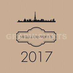 Carte de voeux Paris 2017