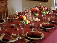 Thanksgiving Decorations for the Table   Ferodoor