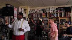 Macklemore & Ryan Lewis: NPR Music Tiny Desk Concert, via YouTube.