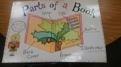Parts of a Book Anchor Chart :)