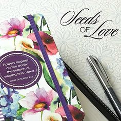 """""""Seeds of Love"""" is a fresh floral range that expresses the love of God through inspiring Scripture and feminine designs."""