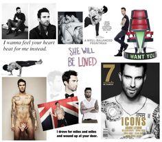 Crush of The Month: Adam Levine - Teenage Wonderland // #blog #crush #hot #maroon5 #adamlevine #thevoice #singer #yoga #beginagain