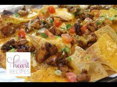 Easy Chicken Nachos Recipe - I Heart Recipes