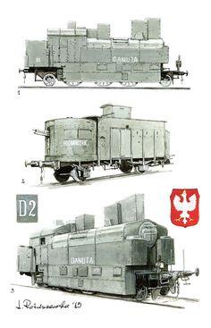 Polski pociąg pancerny 1919 - 1920 https://www.pinterest.com/pin/502151427180902951/