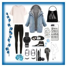 """""""Denim jacket"""" by jumainakmir ❤ liked on Polyvore featuring Brunello Cucinelli, J Brand, Daniel Wellington, 3.1 Phillip Lim, Vans, Kendra Scott, Marc Jacobs, Rodial, Topshop and In Your Dreams"""