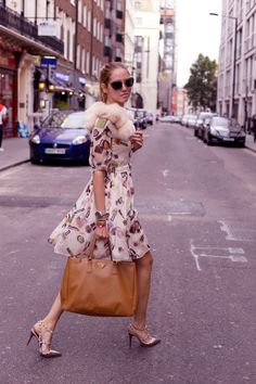 Chaira Ferragni in Moschino Cheap & Chic dress & Miu Miu sunglasses | #streetstyle #fashion