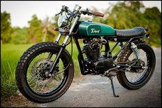 Honda CB100 custom